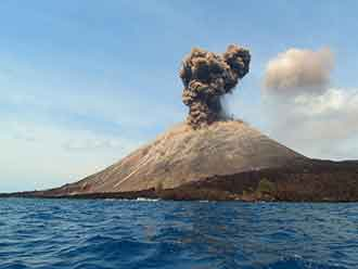 Exploded Krakatoa